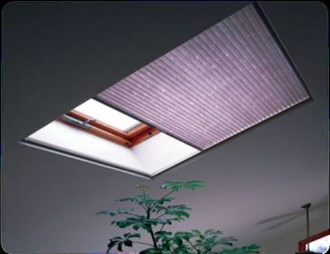 Motorized skylight coverings select drapery window for Motorized shades los angeles